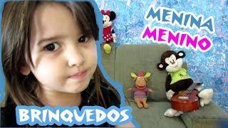 Nesse video LIV responde se existe brinquedos de menina ou de menin...