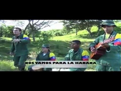 FARC guerrillas call peace talks - in song