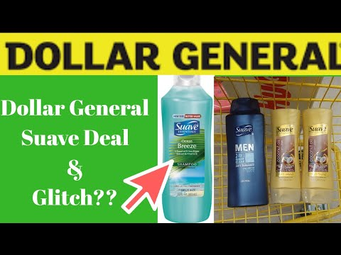 Dollar General Suave, Dove And Possible Glitch Deal