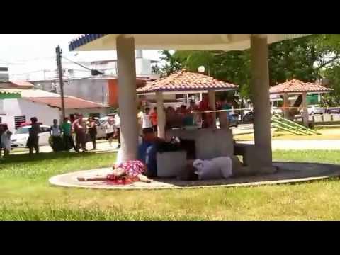 MASACRE EN LAS GAVIOTA NORTE EN VILLAHERMOSA, TABASCO
