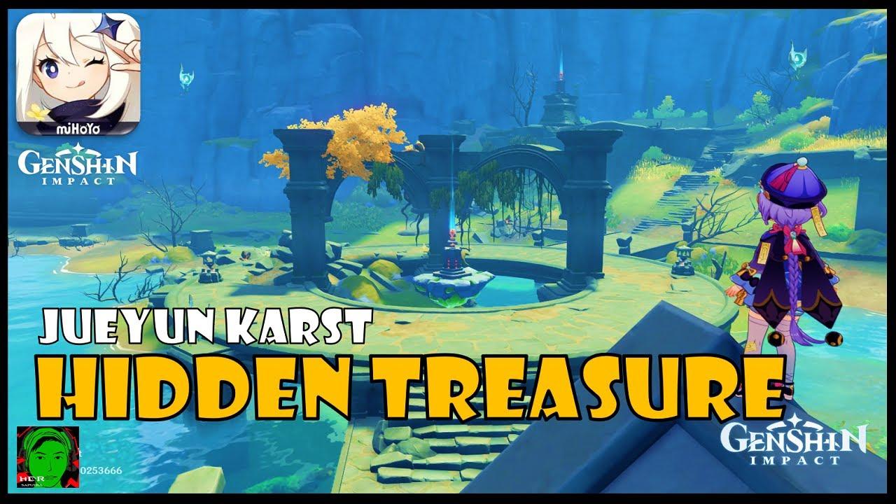 Genshin Impact How To Unlock Taishan Gate And Hidden Treasure In Jueyun Karst Youtube