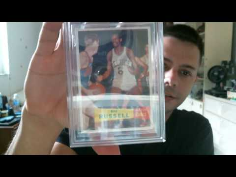 December 1, 2016 Mail Day - 1957-58 Topps Bill Russell ROOKIE BVG 5