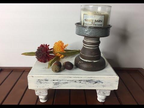 Dollar Tree DIY/|Farmhouse Tray