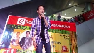 Thinking Out Loud by Juan Karlos Labajo at Robinsons Cabanatuan