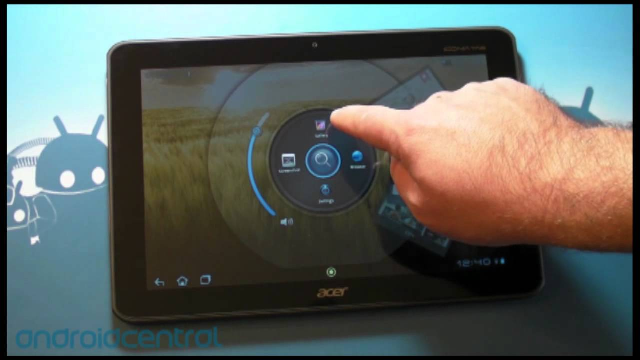 acer iconia a200 android tablet youtube rh youtube com Acer Iconia Windows 8 Acer Iconia Tablet