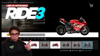 RIDE3 - LINE UP MOTOR-MOTOR BARU DI RIDE3!!! (Indonesia)