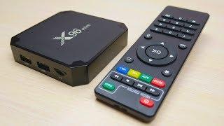 ТВ бокс с сюрпризом X96 Mini - балалайка для киношек за копейки! Посылка из Китая!