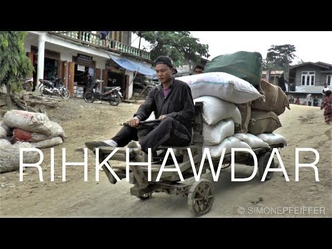 Rihkhawdar to Zokhafthar - Chin State - Border to Mizoram - ချင်းပြည်နယ်