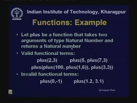 Lecture - 13 First Order Logic