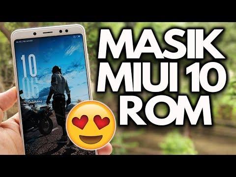 MASIK MIUI 10 ROM Redmi Note 5 Pro - Best BATTERY Life [INSTALL]
