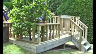 How To Build A Deck, Part 6 - Fitting Handrail. All You Need To Know About How To Build A Deck
