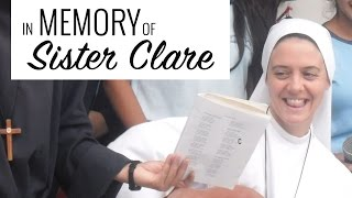 In Memory of Sister Clare