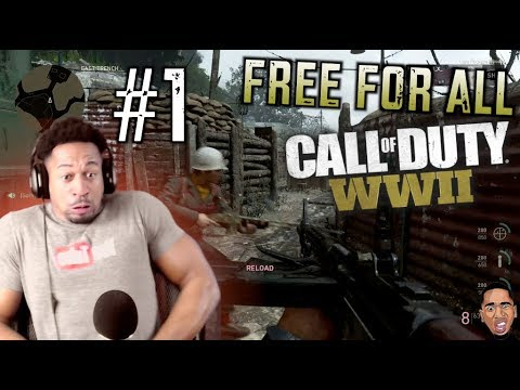 Call Of Duty WW2 - Free For All #1