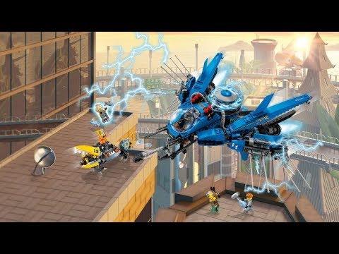 The Lego Ninjago Movie: 70614 Lightning Jet Live Build!