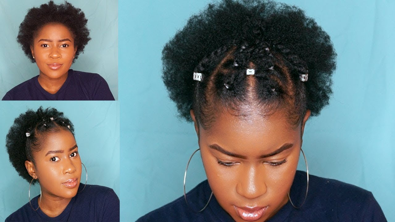 trendy two strand twist style