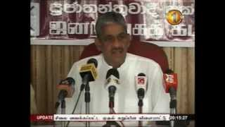 News 1st Prime time 8PM  Shakthi TV news 17th October 2014