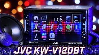 JVC KW-V120BT Stereo - Demo & Review 2016