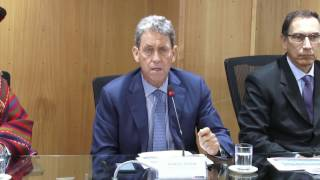 Ministro Thorne se pronuncia sobre el Aeropuerto Internacional de Chinchero