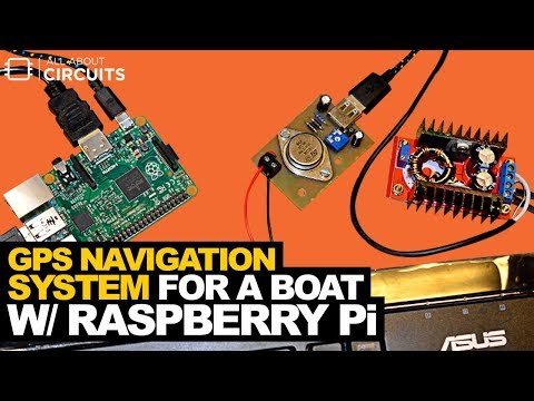 GPS Navigation System for a Boat with a Raspberry Pi - YouTube