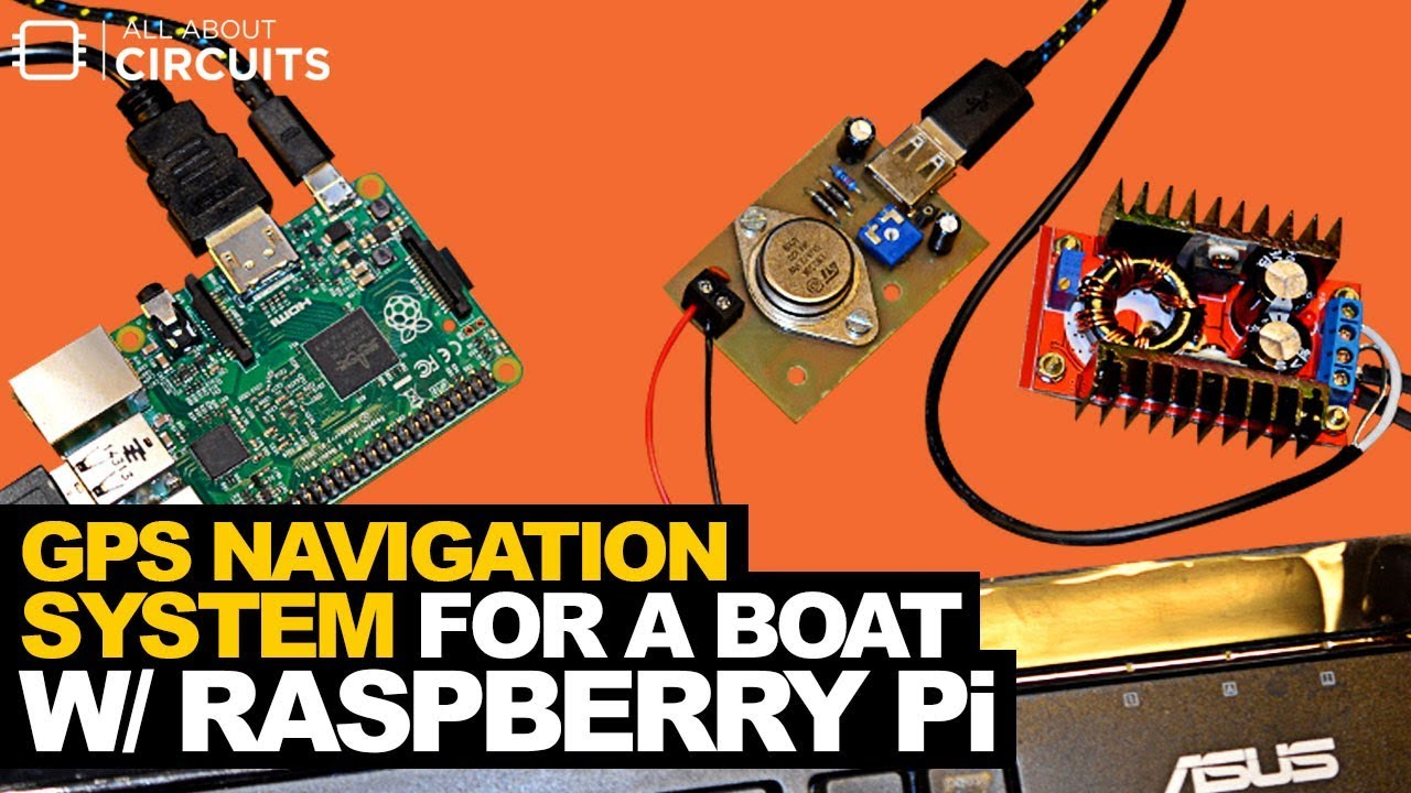GPS Navigation System for a Boat with a Raspberry Pi