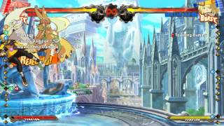 GGXrd: Meterless 2D juggle into unblockable loops