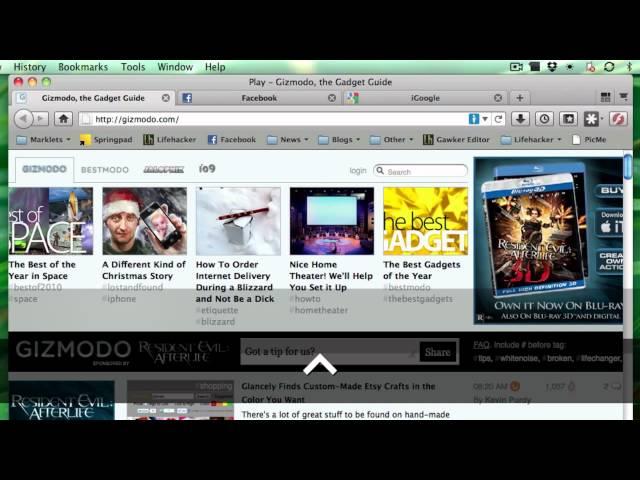 Firefox Tab Panorama Shortcuts