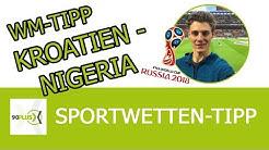 WM Tipp | Kroatien - Nigeria | kostenlose Analyse