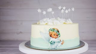 """Торт """"Райское яблоко"""". Рецепт торта для тех кто любит нежнее. Собираем и украшаем торт"""