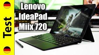 Lenovo IdeaPad Miix 720 Test (deutsch)