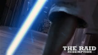 'The Raid: Redemption' Machete Scene... WITH LIGHTSABERS!!