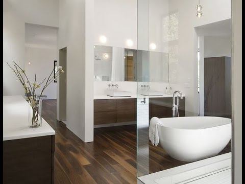 Ba os modernos modern bathrooms youtube for Disenos de cuartos de banos modernos