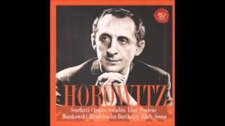 V. Horowitz - Sonata K. 322 (D. Scarlatti) [1946]