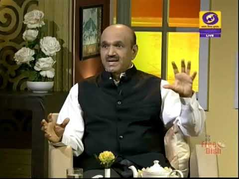 Ophthalmologist/ Eye Surgeon Dr. K Bhujang Shetty in Shubhodaya Karnataka | 11-02-2019 | DD Chandana