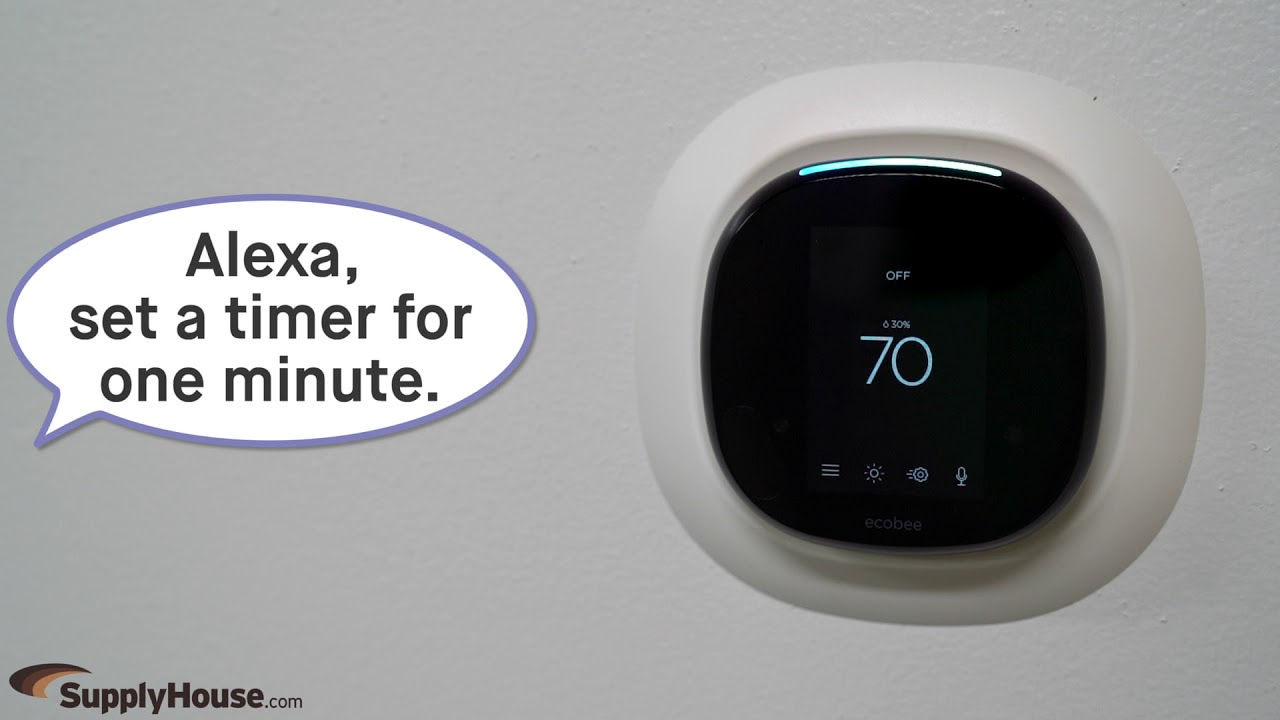 Ecobee4 Smart Thermostat Youtube Honeywell Mercury Switch