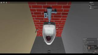 Miami Airport Pool Mens Restroom Full Shoot. ROBLOX.