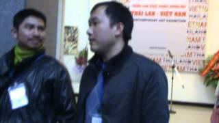 (1)THAILAND-VIETNAM CONTEMPORARY ART EXHIBITION IN HANOI 21-27 02 2014