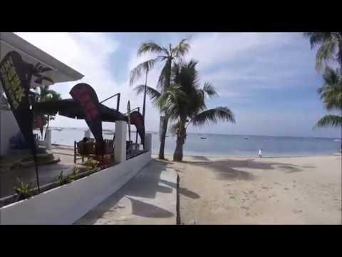 Walking Along Alona Beach Bohol Philippines