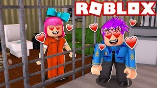 LOVE STORY on ARREST of ROBLOX 😍💖