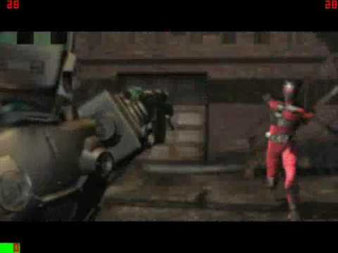 Kamen Rider Ryuki Game PSX / PS1(One) OP