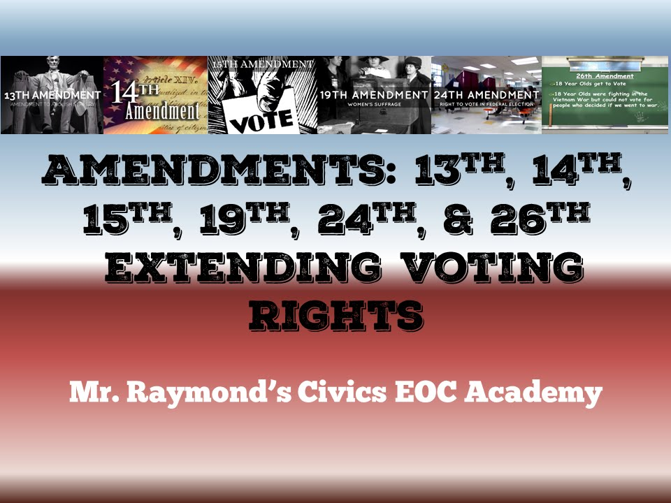 civics 14th amendment essay Issue: 14th amendment equal protection clause precedent:: brown vs  the key part of the decision concluded that separate educational facilities are inherently unequal and deprive minorities of equal protection of the laws, guaranteed by the 14th amendment.