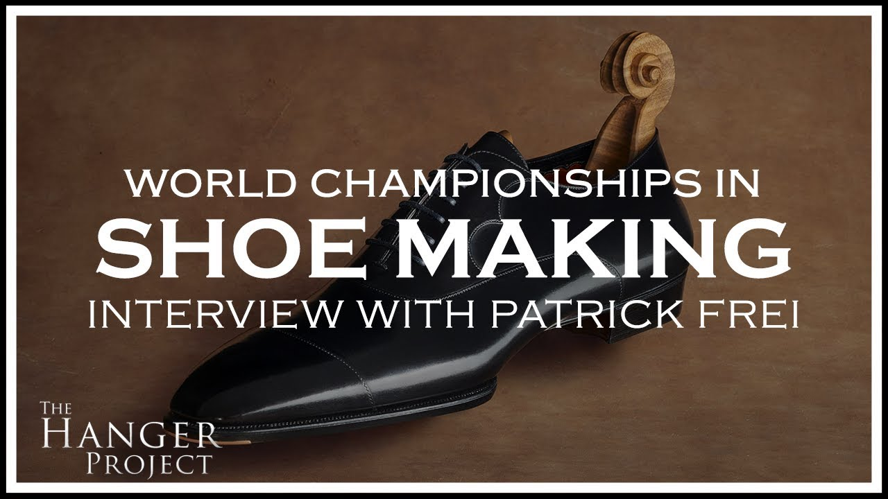 d316dbde0 Interview with World Champion in Shoe Making