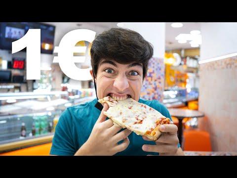 Cosa compro con 1€ a Roma? 🍕 🥐