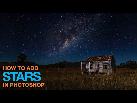 How To Add Stars In Photoshop Youtube