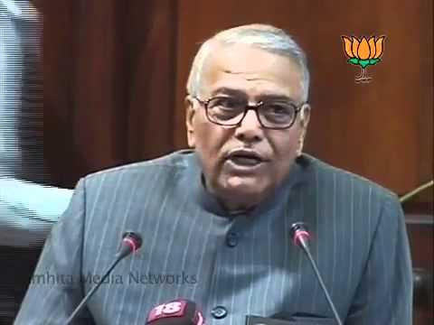 Speech on P Chidambaram: Sh. Yashwant Sinha: 15.12.2011
