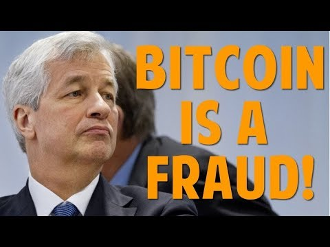 Dimon: Bitcoin Fraud? My Bitcoin And Ethereum Crypto Trades