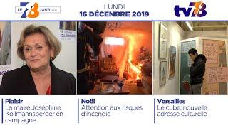 7/8 Le Journal. Edition du 16 décembre 2019