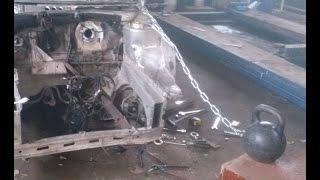 Приспособление для вытягивания кузова своими руками(Очень простое проверенное приспособление для ремонта кузова автомобиля, которое может сделать каждый..., 2015-03-30T19:23:12.000Z)