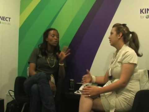E3 2010 - Aisha Tyler's First E3 Interview