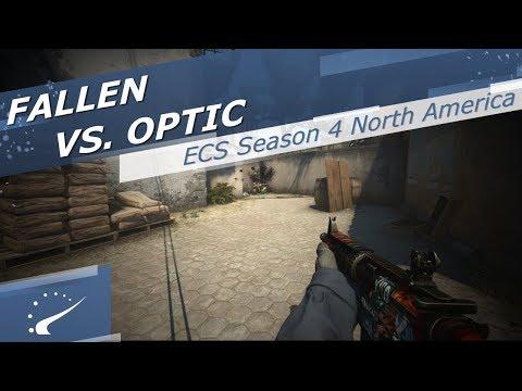 FalleN vs. OpTic - ECS Season 4 North America