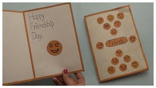 Simple Friendship Day Card | Easy Paper Craft Ideas for All